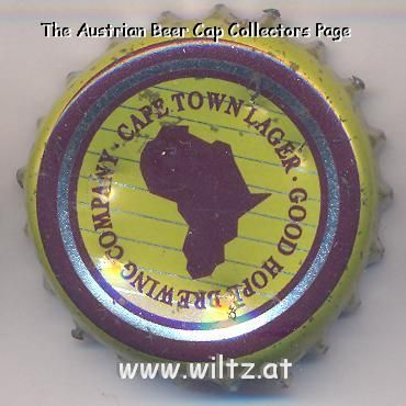Beer cap Nr.4034  Cape Town Lager produced by Good Hope Brewing Company  58ef276f2be8